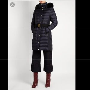 Burberry London navy puffer coat new w/o tags